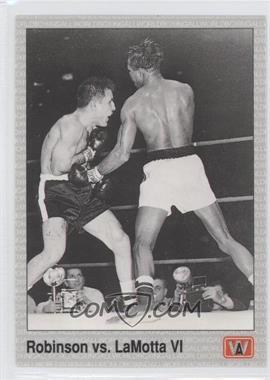 1991 All World Boxing - [Base] #144 - Sugar Ray Robinson, Jake LaMotta
