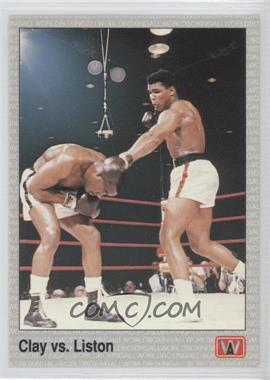 1991 All World Boxing - [Base] #146 - Cassius Clay, Sonny Liston