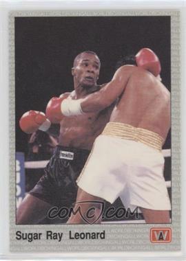 1991 All World Boxing - [Base] #24 - Sugar Ray Leonard