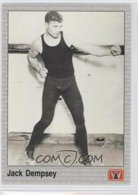 1991 All World Boxing - [Base] #71 - Jack Dempsey