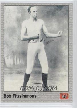 1991 All World Boxing - [Base] #81 - Bob Fitzsimmons