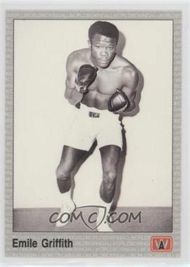 1991 All World Boxing - [Base] #89 - Emile Griffith