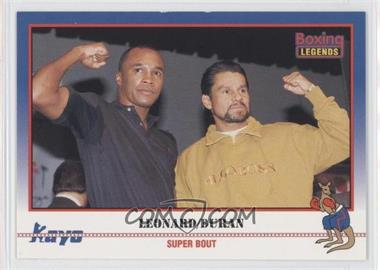 1991 Kayo - [Base] #037 - Super Bout (Sugar Ray Leonard, Roberto Duran)