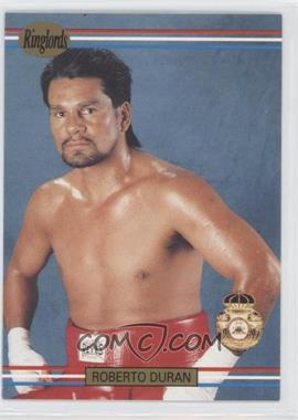 1991 Ringlords - [Base] #20.2 - Roberto Duran (Printed in the U.K.)
