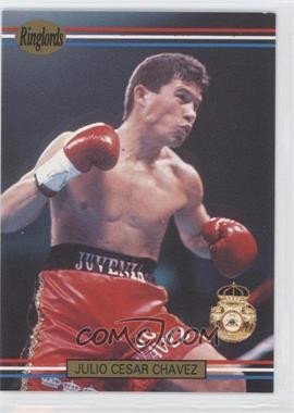1991 Ringlords - [Base] #31.2 - Julio Cesar Chavez (Printed in the U.K.)