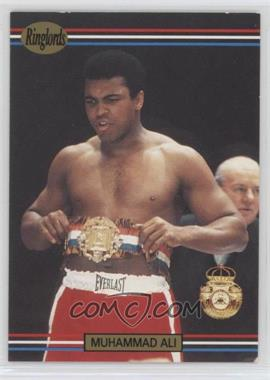 1991 Ringlords - [Base] #40.2 - Muhammad Ali (Printed in the U.K.)