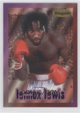 1996 Ringside - [Base] #1 - Lennox Lewis