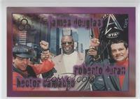 Hector Camacho, James Douglas, Roberto Duran