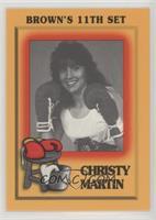 Christy Martin