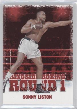 2010 Ringside Boxing Round 1 - [Base] #46 - Sonny Liston