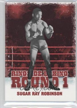 2010 Ringside Boxing Round 1 - [Base] #47 - Sugar Ray Robinson