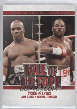2010 Ringside Boxing Round 1 - [Base] #61 - Mike Tyson, Lennox Lewis
