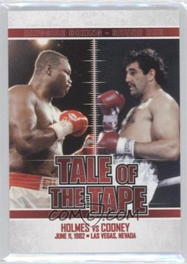 2010 Ringside Boxing Round 1 - [Base] #62 - Larry Holmes, Gerry Cooney