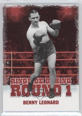 2010 Ringside Boxing Round 1 - [Base] #7 - Benny Leonard
