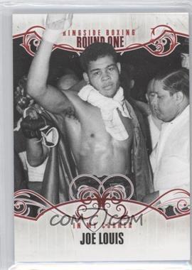 2010 Ringside Boxing Round 1 - [Base] #75 - Joe Louis