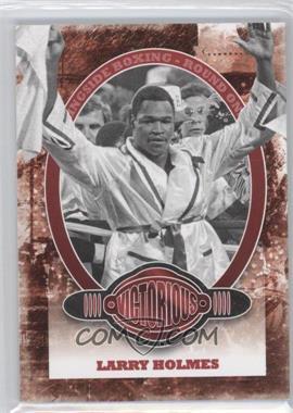 2010 Ringside Boxing Round 1 - [Base] #78 - Larry Holmes