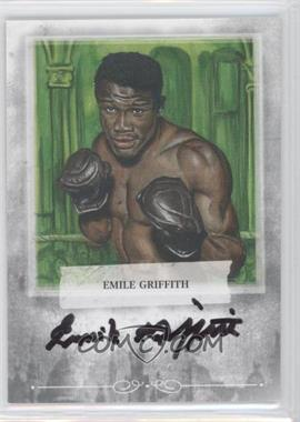 2010 Ringside Boxing Round 1 - Mecca Autographs - Silver #A-EG2 - Emile Griffith