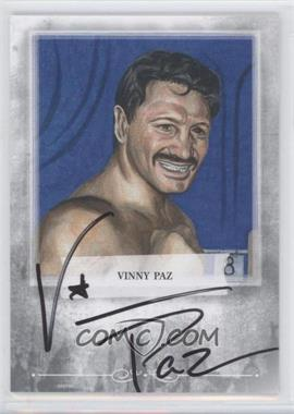 2010 Ringside Boxing Round 1 - Mecca Autographs - Silver #A-VP1 - Vinny Paz