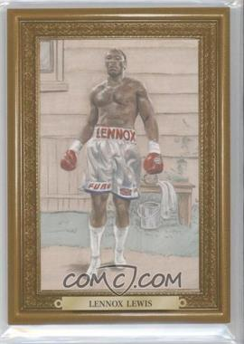 2010 Ringside Boxing Round 1 - Mecca Turkey Red - Gold #52 - Lennox Lewis /9