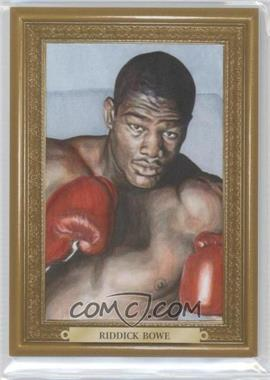 2010 Ringside Boxing Round 1 - Mecca Turkey Red - Gold #71 - Riddick Bowe /9