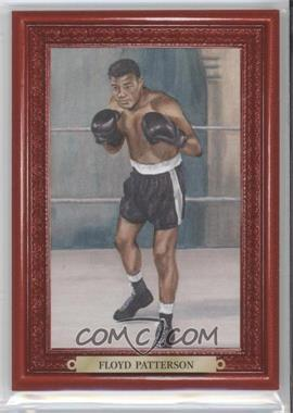 2010 Ringside Boxing Round 1 - Mecca Turkey Red #25 - Floyd Patterson