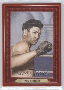 2010 Ringside Boxing Round 1 - Mecca Turkey Red #34 - Jack Dempsey