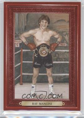 2010 Ringside Boxing Round 1 - Mecca Turkey Red #70 - Ray Mancini