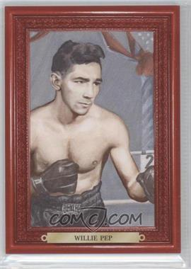 2010 Ringside Boxing Round 1 - Mecca Turkey Red #89 - Willie Pep
