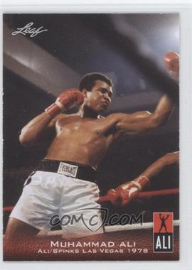 2011 Leaf Ali The Greatest - [Base] #12 - Muhammad Ali