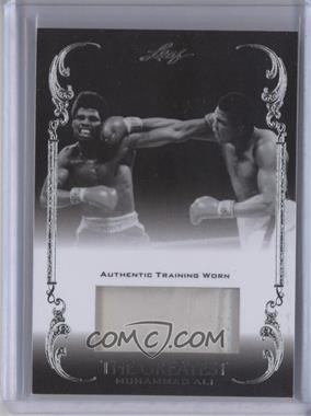 2011 Leaf Ali The Greatest - Training Worn Memorabilia Swatch #TW-40 - Muhammad Ali /5