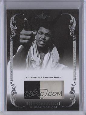 2011 Leaf Ali The Greatest - Training Worn Memorabilia Swatch #TW-9 - Muhammad Ali /5
