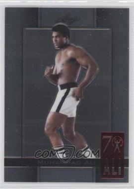 2011 Leaf Metal Ali - 70th Birthday Redemption - Double Embossed #25 - Muhammad Ali