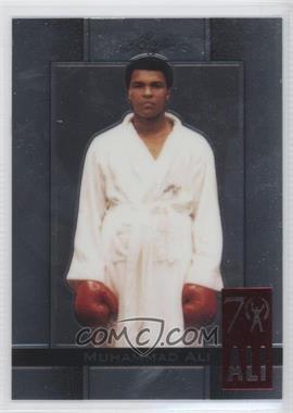 2011 Leaf Metal Ali - 70th Birthday Redemption - Double Embossed #6 - Muhammad Ali