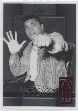 2011 Leaf Metal Ali - 70th Birthday Redemption - Double Embossed #67 - Muhammad Ali