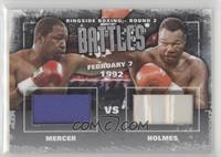 Ray Mercer, Larry Holmes