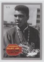 Cassius Clay (18-Year Old Wins Olympic Gold) #/5