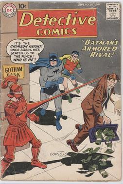 1937-2011 DC Comics Detective Comics Vol. 1 #271 - Batman's Armored Rival