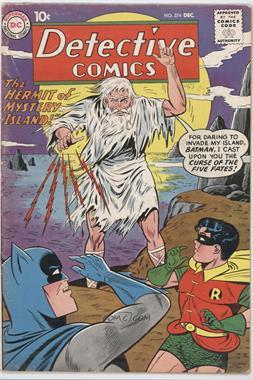 1937-2011 DC Comics Detective Comics Vol. 1 #274 - The Hermit of Mystery Island