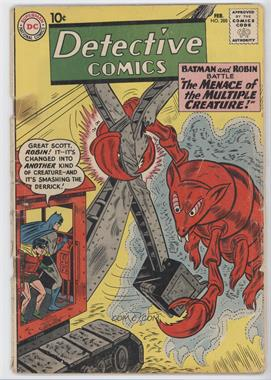 1937-2011 DC Comics Detective Comics Vol. 1 #288 - The Menace of the Multiple Creature