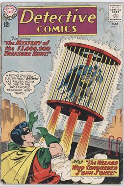 1937-2011 DC Comics Detective Comics Vol. 1 #313 - The Mystery of the $1,000,000 Treasure Hunt