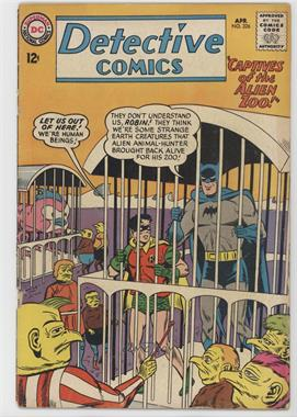 1937-2011 DC Comics Detective Comics Vol. 1 #326 - Captives of the Alien Zoo