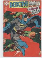 Fearsome Foot-Fighters ; Elongated Man Throws His Weight Around