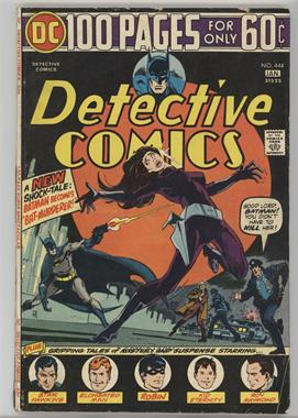 1937-2011 DC Comics Detective Comics Vol. 1 #444 - Bat Murderer