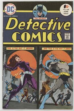 1937-2011 DC Comics Detective Comics Vol. 1 #448 - Bedlam Beneath the Big Top! [Readable(GD‑FN)]