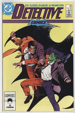 "1937-2011 DC Comics Detective Comics Vol. 1 #581 - ""One Out of Two ... Isn't Bad..."""
