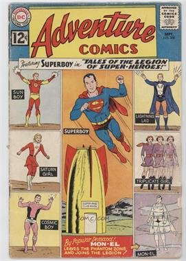 1938-1983, 2010-2011 DC Comics Adventure Comics Vol. 1 #300 - The Face Behind The Lead Mask