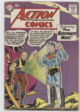 1938-2011 DC Comics Action Comics Vol. 1 #249 - The Kryptonite Man
