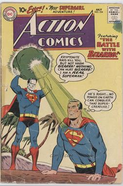 1938-2011 DC Comics Action Comics Vol. 1 #254 - The Battle With Bizarro!