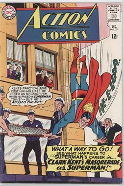 1938-2011 DC Comics Action Comics Vol. 1 #331 - Clark Kent's Masquerade as Superman [Readable(GD‑FN)]
