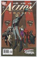 Superman And The Legion Of Super-Heroes, Chapter 3 - Lightning And Shadows